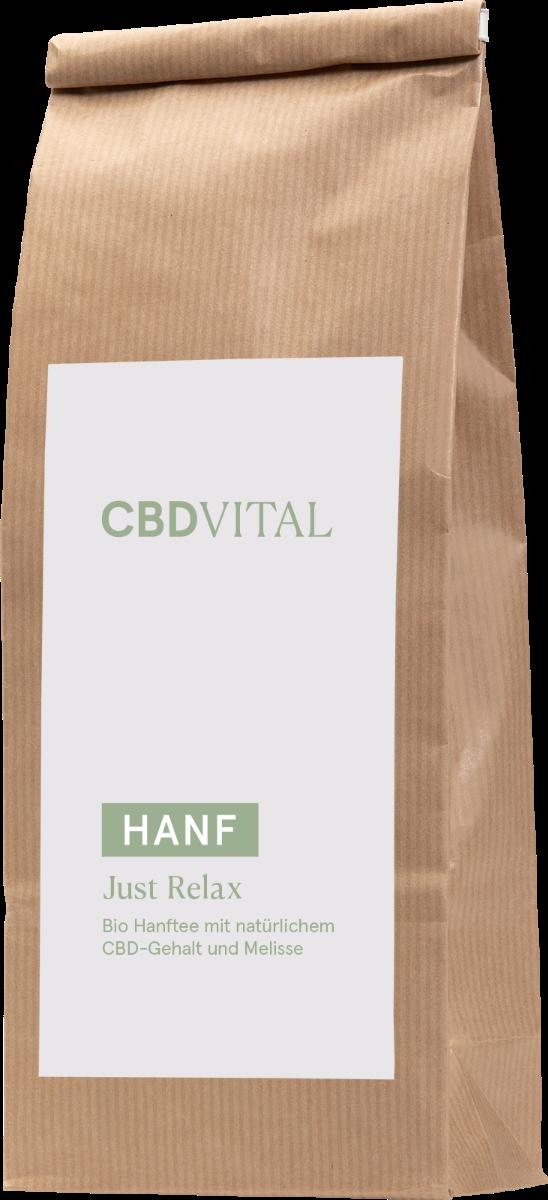 CBD Hanfblütentee Bio 1,5% - just relax