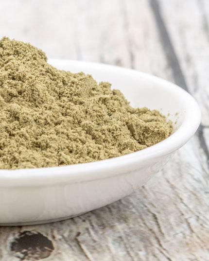 Natürliches und pflanzliches Hanfprotein