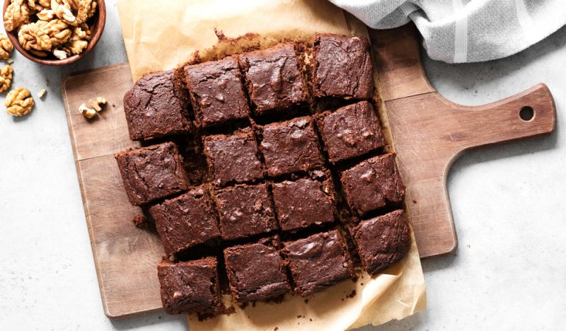 Rezept: Gesunde CBD Brownies
