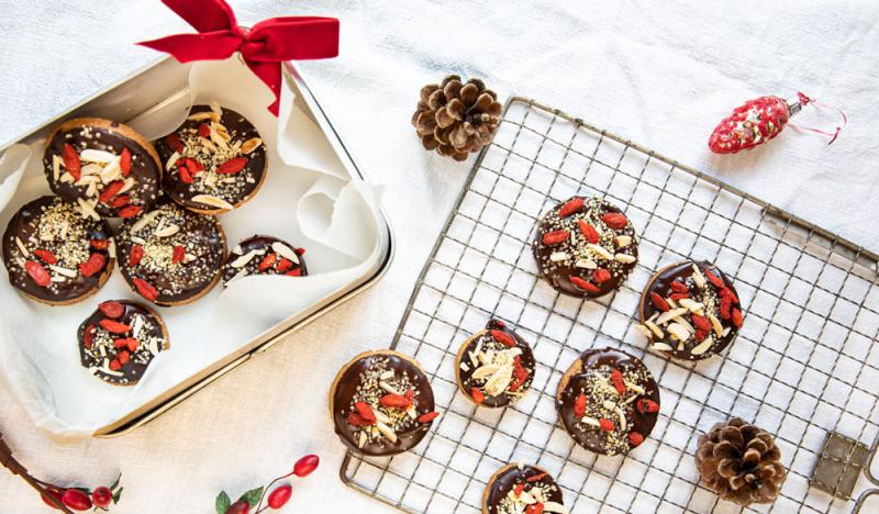 Mandel-Toffee Cookies Rezept