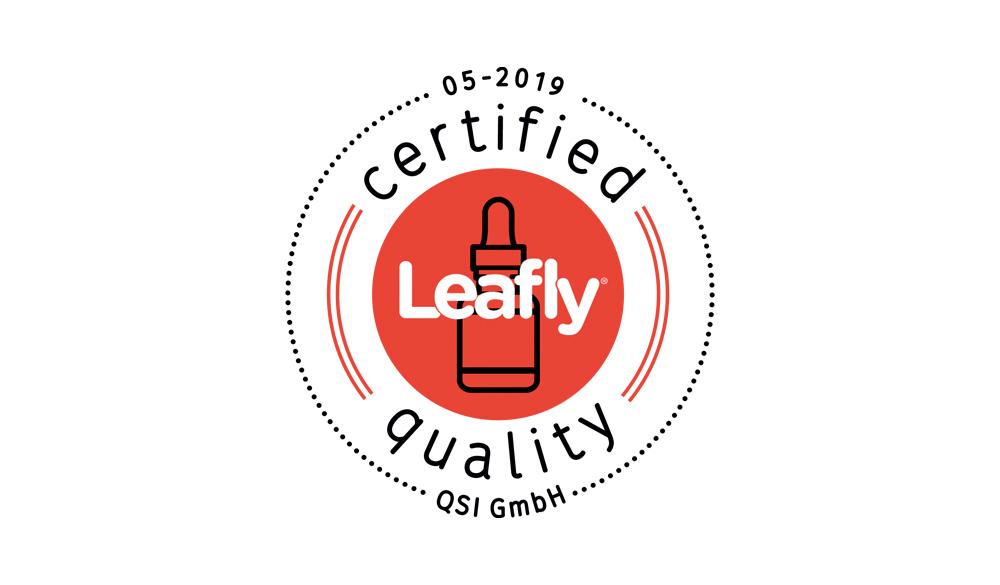 Qualität macht sich bezahlt - Zertifiziert mit dem Gütesiegel von Leafly