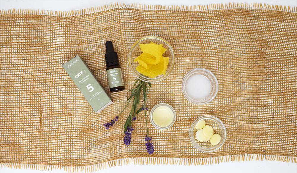 Do-It-Yourself Lippenpflege mit CBD Öl