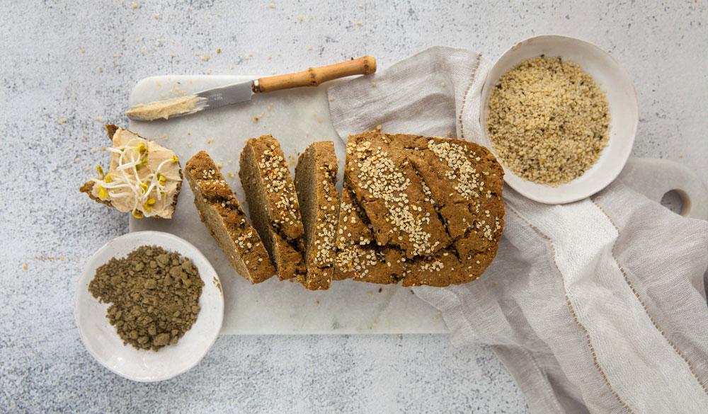 Glutenfreies Hanfbrot - Rezept