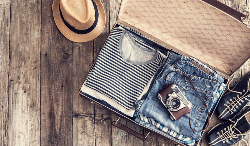 Reisen mit CBD-Produkten